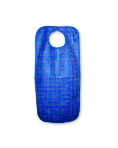 Heavy Duty Clothing Protector/Apron, snap closure, 45x90cms, Blue Stuart