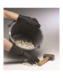 Black Industrial Gloves / Medium Qty:Pair