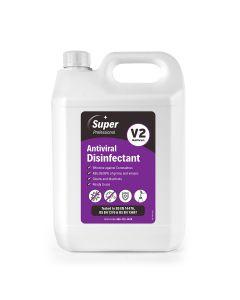 *Best Seller!* Super AntiViral Disinfectant Cleaner V2 1x5 Ltr