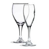 Teardrop Wine Glasses